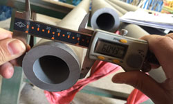 Dimension check for Stainless steel pipes